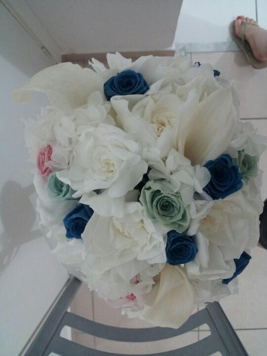Bouquet de flor natural preservada