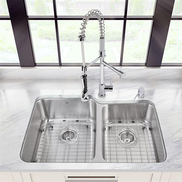 Best 25+ Double kitchen sink ideas on Pinterest | Kitchen sink diy ...