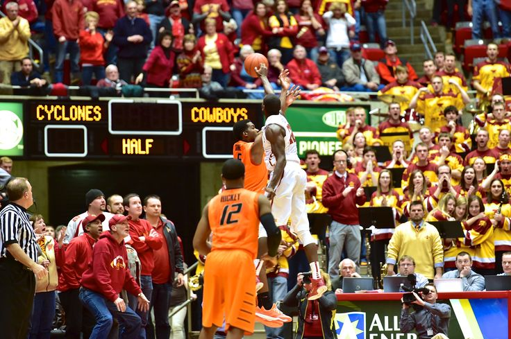 Iowa State vs. Oklahoma State, January 6 2015, Dustin ...