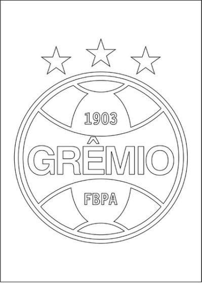 95c3b372f3aff Bandeira do Grêmio para colorir