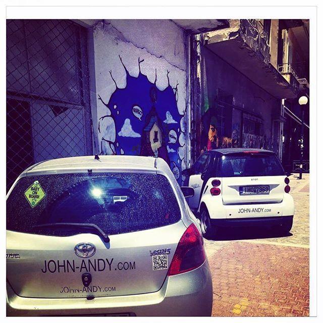 #johnandy #cars #streetphotography #yaris #smart #00302109703888  Παρεούλα smart και Yaris