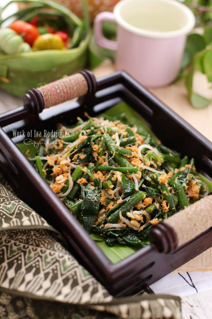 Urab Indonesian Vegetable dish