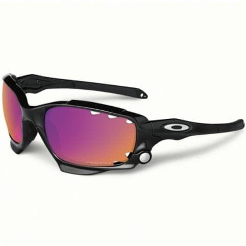 Vélo Jacket Lunettes Racing En Oakley Prizm Trail Black Polished WEDHY2I9