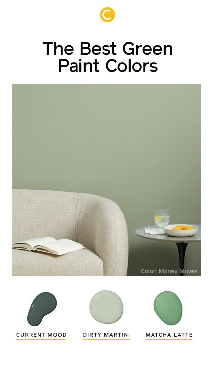 The Best Green Paint Colors For Your Home Clare Green Paint