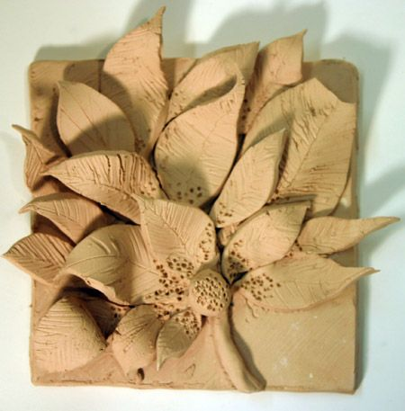 Natural form clay Tile - Google Search