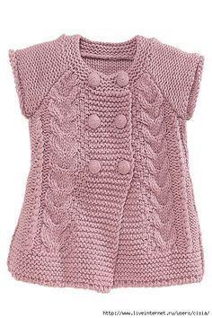 Resultado de imagen para pinterest puntos de tejido a dos agujas para vestidos y chalecos