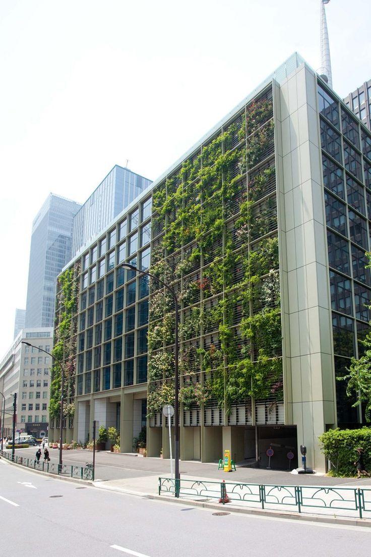 pasona-hq #facade #green