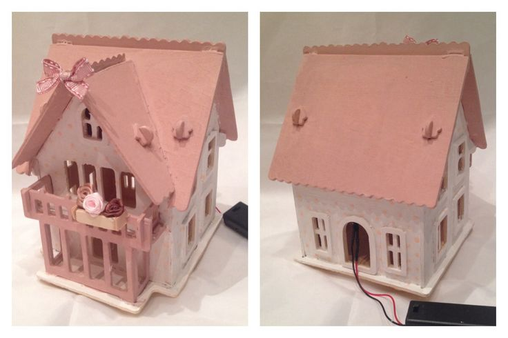 Lampada notturna pink doll's house