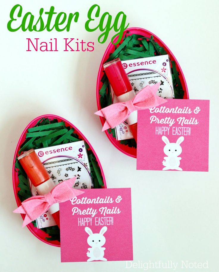 17 best images about raising 3 daughters on pinterest chore tween girl easter basket idea easter egg nail kit negle Image collections