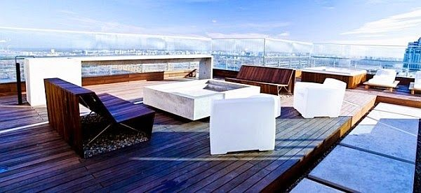 Relaxed in Your Own Fascinating Roof Terrace | TENKA