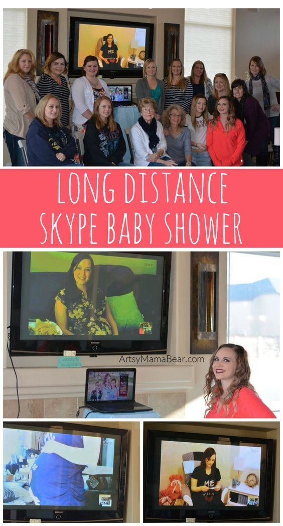 Long Distance Skype Baby Shower - How to throw one!