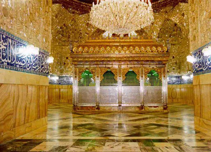 Zari of Hazrat Abbas(a.s.) - full view