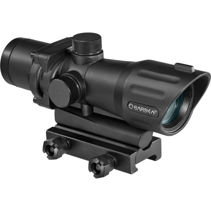 The Barska 4x32 AR-15 / M-16 Sight by Barska is the perfect sight for instant and accurate targeting. Features long eye relief for quick target acquisition. The scope's mil-dot reticle and windage and