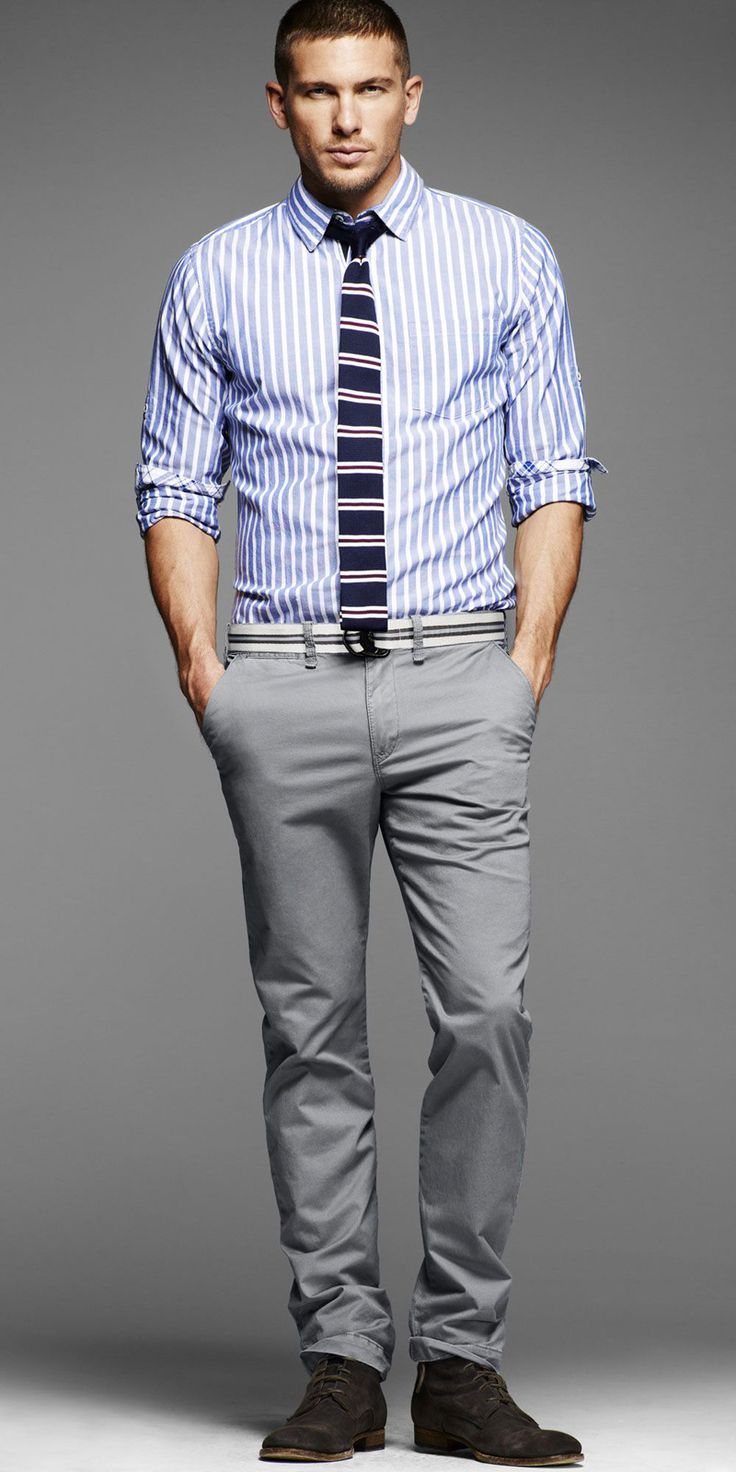 Adam Senn Steps Out for Express Summer 2012