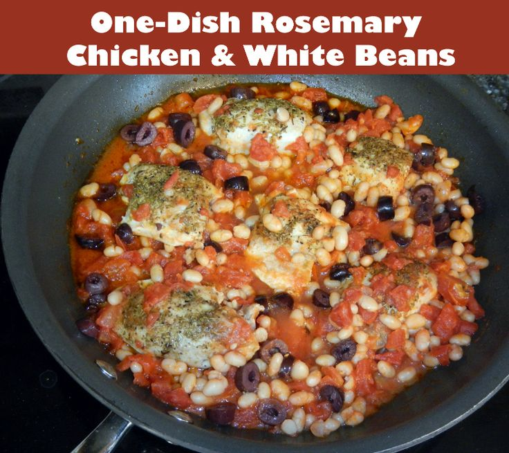 One-Dish Rosemary Chicken & White Beans | Easy, Healthy ...