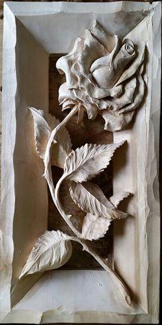 «Розы.» Липа, морилка, воск. Автор - Slava Kvitko #woodcarving #woodbeecarver #whittling #woodcarving #carving