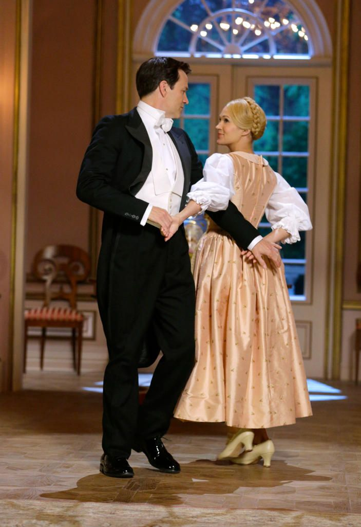 """The Sound of Music Live!"" - Stephen Moyer as Captain Von Trapp and Carrie Underwood as Maria"