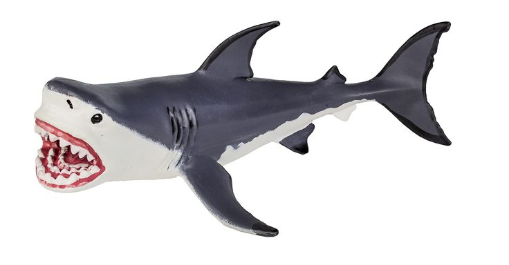 Safari Ltd Wild Safari Dinosaurs Megalodon. Each replica comes with 5-language educational hangtag. The creatures in this collection are some of the largest models you can find, making them perfect for educational use and active play. It was known for its monstrous appearance and was approximately 59 feet long. Vastly outweighing both the modern Great White Shark and ancient reptiles like Liopleurodon and Kronosaurus. Megalodon was the biggest prehistoric shark that ever lived; it was the...