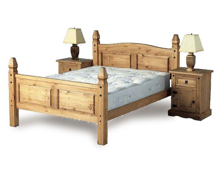 best 25 pine bed frame ideas on pinterest simple bed. Black Bedroom Furniture Sets. Home Design Ideas