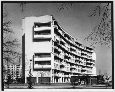 Гропиус, 9 этажный жилой дом 1957