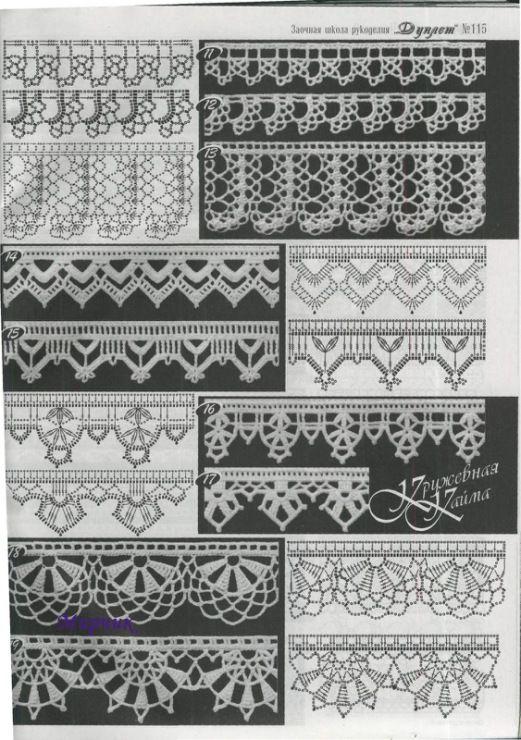 crochet patterns ...♥ Deniz ♥
