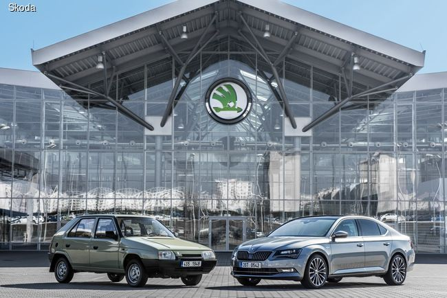 SKODA и Volkswagen Group – 25 лет вместе!