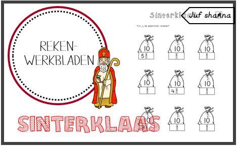 Juf Shanna: Thema Sinterklaas: hoeveel zit er in de zak?