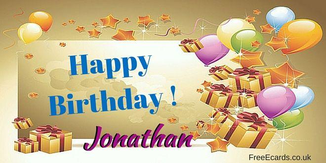 Happy Birthday Jonathan Free Ecards Happy Birthday Rose Happy Birthday Cake Images Happy