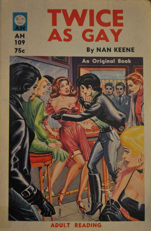 Cover by Eric Stanton Twice As Gay | Peek Inside 22 Vintage Lesbian Pulp Novels