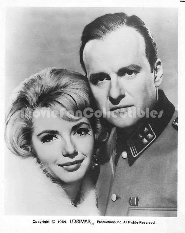 Operation Eichmann Publicity Photo Ruta Lee, Werner Klemperer as Nazi