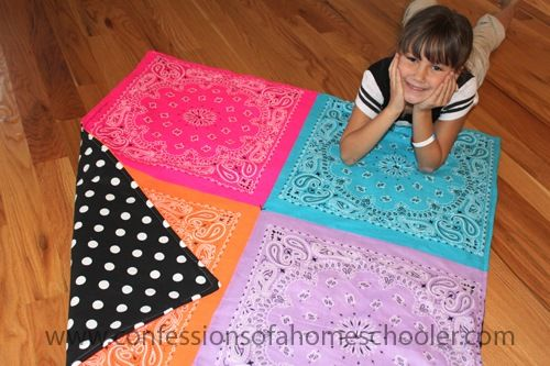 what a fun, easy quilt to make!