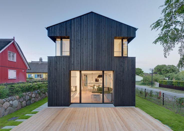 256 Best Black Houses Images On Pinterest
