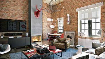 Cómo utilizar ladrillos expuestos en tus paredes