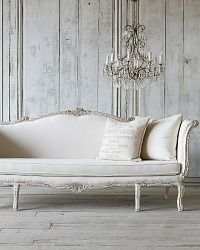 Eloquence One of a Kind Louis XV French Style Daybed Sofa Upholstered
