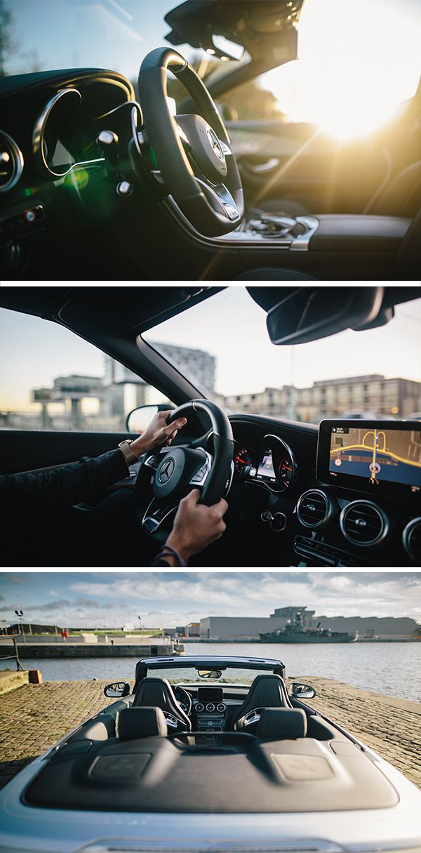Interior – modernity meets lifestyle. Photos by Florian Roser (www.roserbrothers.com) for #MBsocialcar [Mercedes-AMG C 63 S | combined fuel consumption: 8.9 l/100km | combined CO₂ emissions: 208 g/km | http://mb4.me/efficiency_statement]