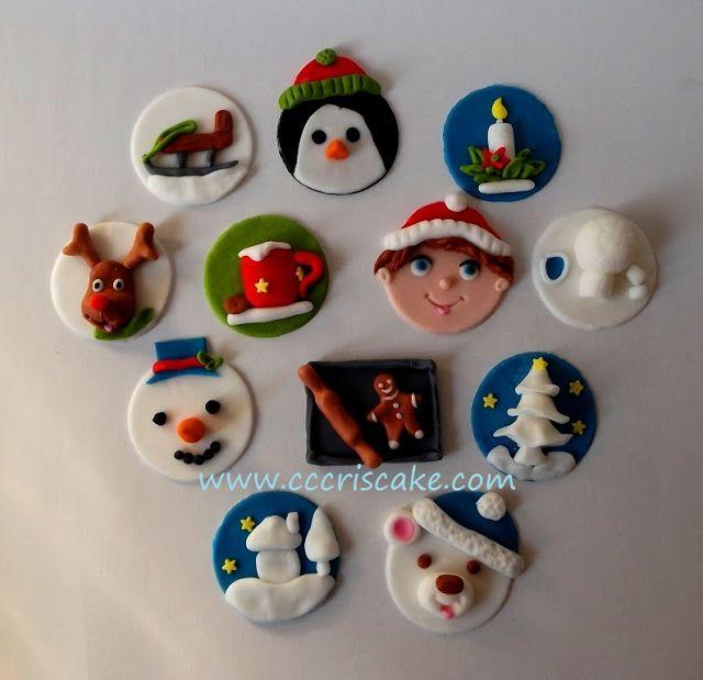Torturi artistice: Winter cupcakes
