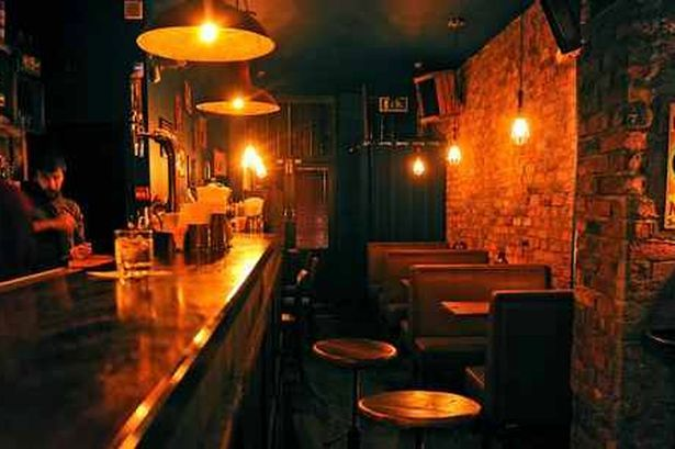 Berry and Rye drinking den is a vintage dream