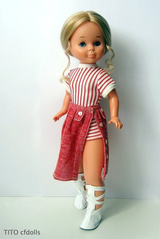 Nancy Conjunto Mixto 1971 - my first Nancy doll had this exact outfit on :)