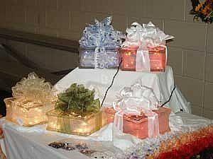 How to Make light glass blocks for christmas