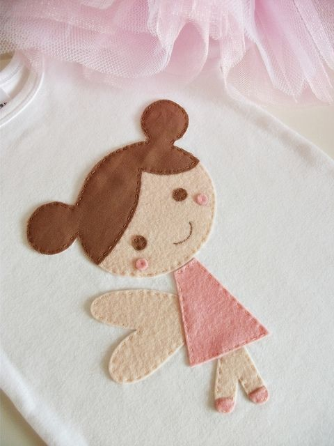 "cute little angel - could be a cute little ""tooth fairy"" pillow idea."