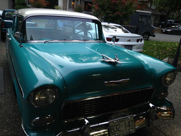 Freshly polished ready for winter storage.Special thanks to Glen from Adams waxes! 1955 Chevrolet