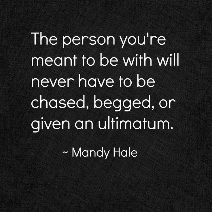 Meant To Be With Mandy Hale - Relationship Quotes
