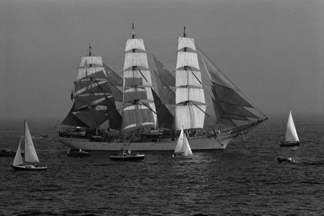 The Tall Ships Races in Helsinki, 1972.