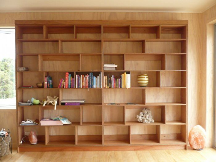 Plywood shelving Unit Coatesville | kirsty winter