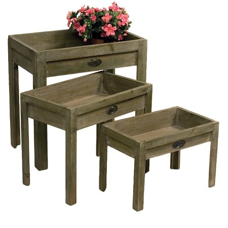 Wooden Plant Stand With Drawer WoodWorking Projects amp Plans