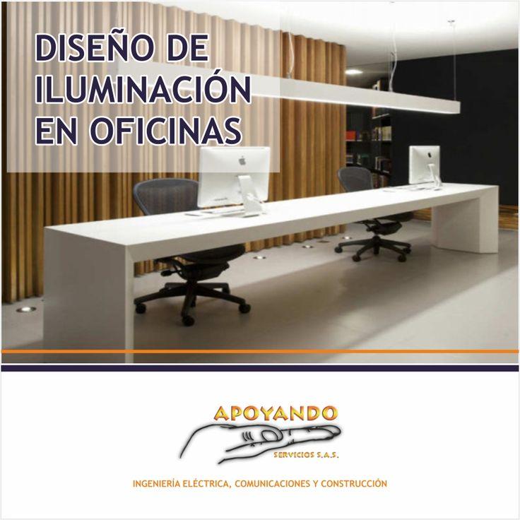 Diseño de iluminación para oficinas, contáctentos con gusto los atenderemos 3212031352 - 3144904462