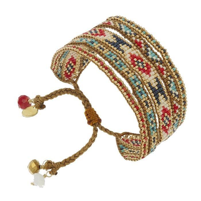 Bracelet manchette Melange (multicolore)