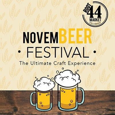 NovemBEER Festival happening at Root44 market on 25 November, offers you a chance to taste beers from a few lesser-spotted breweries.