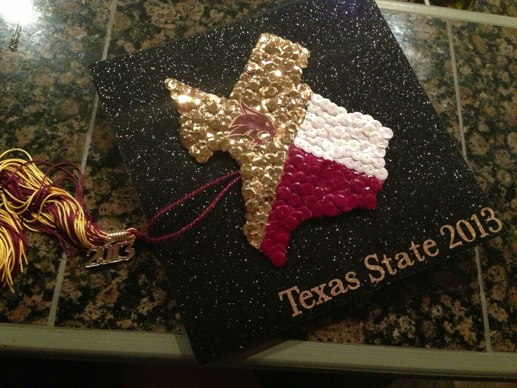 Change colors to Delaware, add an anchor, and words around the edge and I've found my graduation cap! :D