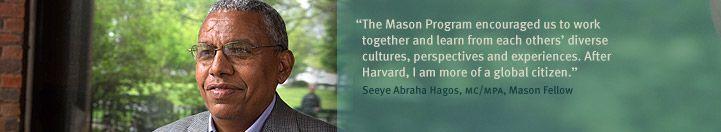 Correo electrónico de Harvard: Mason_Program@hks.harvard.edu, protesta contra becarios Felipe Calderon y Alejandra Sota